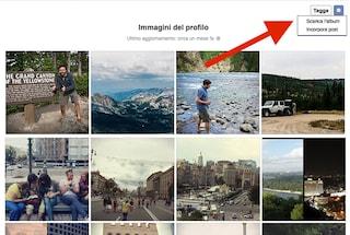 Facebook, da oggi è possibile scaricare interi album fotografici: ecco come fare