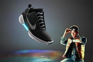 HyperAdapt 1.0, Nike presenta le scarpe che si allacciano da sole