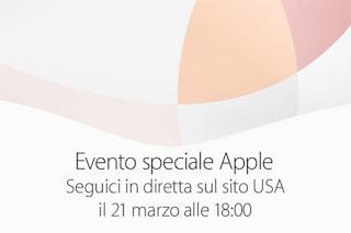 Keynote Apple, confermata la diretta streaming dell'evento del 21 marzo