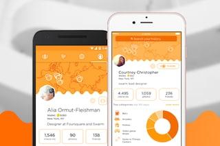 Swarm, Foursquare rilascia un nuovo aggiornamento dell'app per iOS e Android