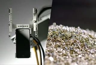 Apple ha recuperato 40 milioni di dollari in oro dal suo programma di riciclo