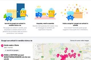"""Facebook introduce la nuova sezione """"Gruppi con articoli in vendita"""": ecco come funziona"""