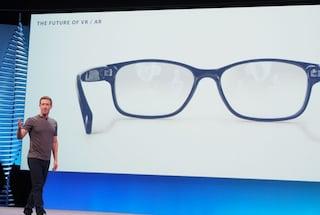 Facebook punta agli occhiali per la realtà virtuale e aumentata