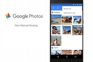Google Foto, disponibile il backup manuale: ecco come funziona