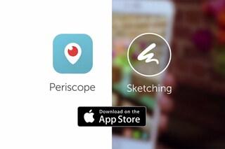 Periscope, il nuovo aggiornamento migliora le statistiche e introduce i disegni in diretta