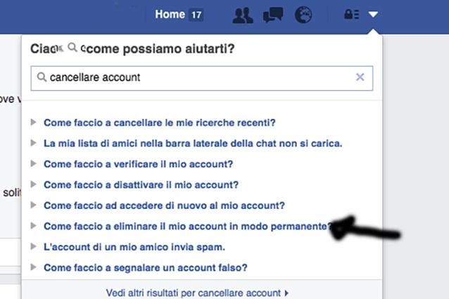 Come riattivare account Facebook | Salvatore Aranzulla