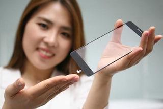 LG sviluppa un lettore di impronte digitali sotto il display dello smartphone