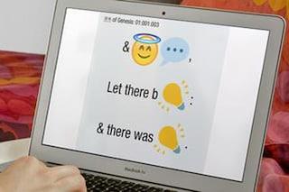 La Bibbia tradotta in emoji: download disponibile tramite iTunes