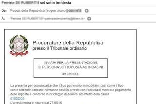 Phishing, attenzione alla finta mail della Procura della Repubblica: è una truffa