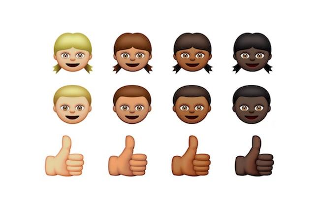 emoji-bianche-nere razzismo