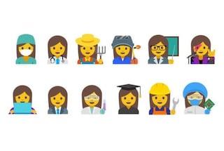 Google vuole introdurre 13 emoji per rappresentare le donne sul lavoro