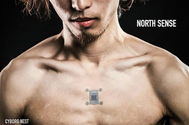 """North Sense, il """"sesto senso"""" di Cyborg Nest per un corpo 2.0"""