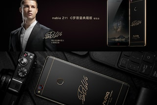 ZTE Nubia Z11, presentato il nuovo smartphone Android autografato da Cristiano Ronaldo