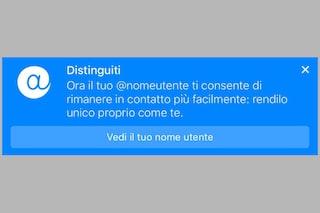 Facebook Messenger introduce la possibilità di modificare il nome utente