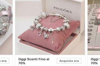 """""""Sconto del 70% sui gioielli Pandora"""": attenzione alla nuova truffa su Facebook"""