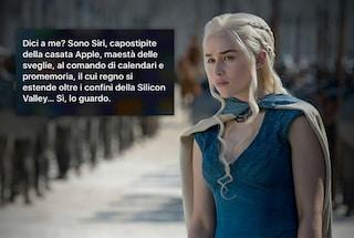 Siri guarda Game of Thrones (e te lo spoilera)