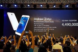 ASUS presenta i nuovi Zenfone 3 Max e Zenfone 3 Laser: tutte le caratteristiche tecniche