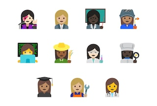 Ecco le 11 nuove emoji dedicate alle donne sul lavoro