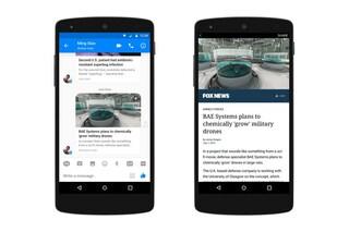 Facebook Messenger, in arrivo il supporto agli Instant Articles