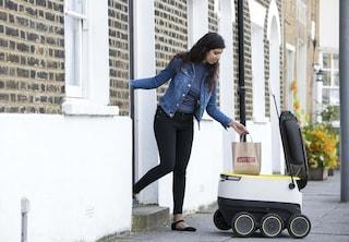 Just Eat ti consegnerà il pranzo con robot automatizzati