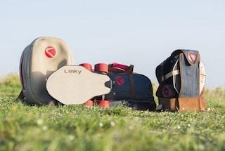 Linky, il longboard elettrico (e pieghevole) italiano