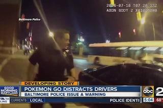 Pokémon Go, si schianta sulla volante della Polizia per catturare un Pokémon