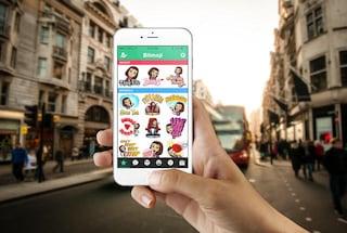 Snapchat si allea con Bitmoji per l'invio delle emoji personalizzate
