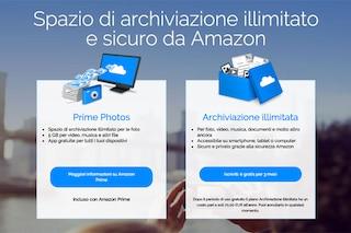 Amazon presenta l'archiviazione illimitata su cloud: ecco come funziona