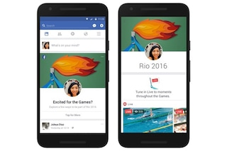 Facebook, nuove funzionalità in arrivo per le Olimpiadi di Rio 2016: tutte le novità