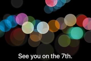 Apple, svelata la data di presentazione ufficiale del nuovo iPhone 7