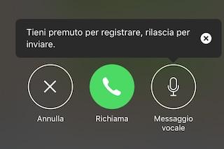WhatsApp per iOS si aggiorna e introduce la segreteria telefonica