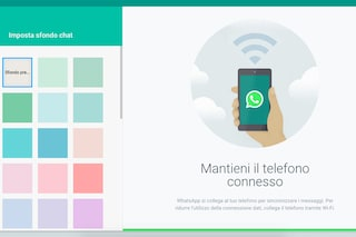 WhatsApp Web consente di personalizzare lo sfondo delle chat