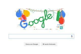 Compleanno Google, un doodle per i 18 anni del motore di ricerca