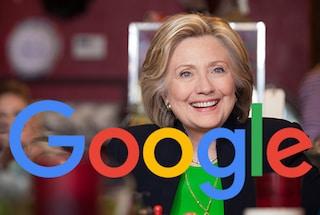 """Usa, uno studio denuncia: """"Google favorisce Hillary Clinton"""""""