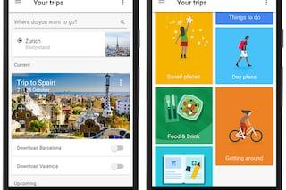 Google Trips, la nuova app per pianificare i viaggi