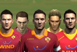 40 anni di Totti: com'è cambiato in FIFA dal 1996