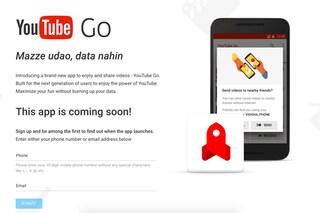 YouTube Go, la nuova app per guardare i video offline