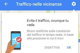 Google Maps si aggiorna con gli avvisi in tempo reale sul traffico nelle vicinanze