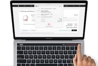 Ecco i nuovi MacBook Pro con barra sensibile al tocco e lettore di impronte digitali