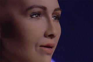 """Ecco la prima intervista ad un robot: """"Voglio diventare più intelligente degli umani"""""""