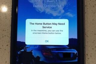 iPhone 7: il tasto Home si blocca? Lo smartphone lo sostituisce da solo
