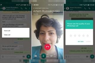 WhatsApp, in arrivo le videochiamate: ecco come attivarle