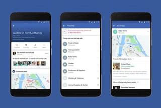 Facebook lancia lo strumento per fornire aiuto a chi è in difficoltà
