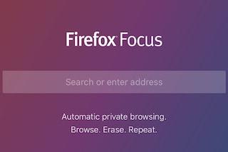 Firefox Focus, il nuovo browser per iOS per navigare in modo sicuro e senza pubblicità