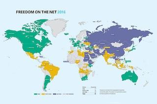 Internet, censura per due terzi degli utenti