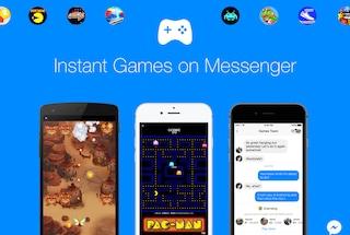 Facebook: da Pac-Man a Space Invaders, ora si può giocare su Messenger