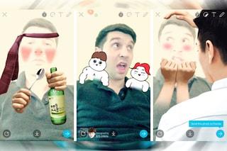 Facebook ha tentato di acquisire Snow, il clone di Snapchat