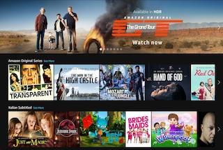 Amazon Prime Video è disponibile in Italia