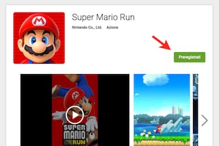 Super Mario Run per Android, disponibili le pre-registrazioni su Google Play Store