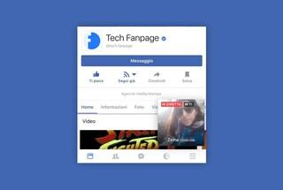 Facebook, una notifica in sovrimpressione mostra i video degli amici in diretta